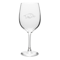 19 oz Wine Glass with Hog or Seal