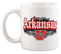 Arkansas Rock and Roll Mug