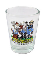 Arkansas Wildlife Shot Glass
