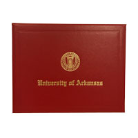 UofA Red Diploma Cover