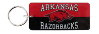 ARKANSAS OVER HOG OVER RAZORBACKS KEYCHAIN