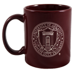 BURGANDY MUG WITH SEAL