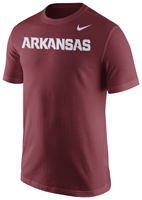 ARKANSAS NEW FONT CARD TEE