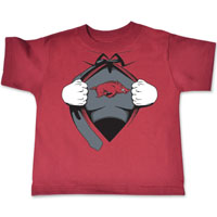 TODDLER SUPER HERO CARD TEE