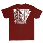 TOWER INSIDE STATE NOT FOUR YEARS BUT FOR LIFE CARD SS TEE