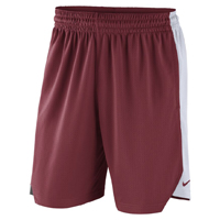 RUN HOG CARD SHORTS WHITE SIDE