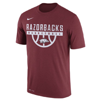 RAZORBACKS BASKETBALL CARD SS T-SHIRT