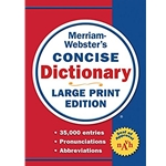 CONCISE DICTIONARY (LARGE PRINT EDITION)