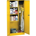 30X15X66 SUP CABINET YELLOW