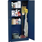 30X15X66 SUPPLY CABINET BLUE