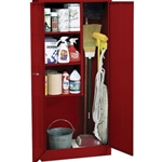 30X15X66 STOR CABINET RED