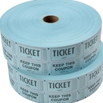 RECYCLED 2XTICKET BLU 2PK 2000
