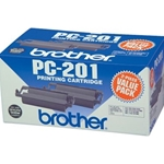 BROTHER PC201 BLACK INK 2PK