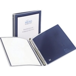.5IN VUSION RING BINDER BLUE