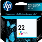 HP 22 TRI-COLOR INK
