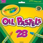 28 CT OIL PASTELS