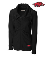 BLACK SQUEEZE PLAY FULL ZIP JACKET