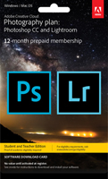 ADOBE PHOTOGRAPHY PLAN PHOTOSHOP AND LIGHTROOM