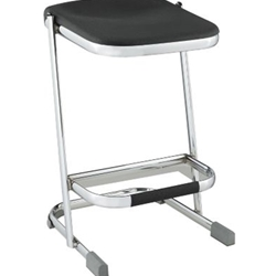 24H ERGONOMIC Z STOOL BLK