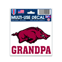 Decal Hog Over Grandpa