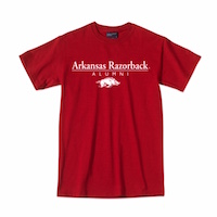 Arkansas Razorback Alumni Over Hog Cardinal T-Shirt