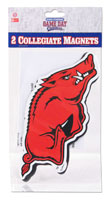 Car Magnet Set Small Red Hog