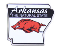 Lapel Pin The Natural State Over Running Hog