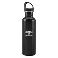 24OZ STAINLESS STEEL WATER BOTTLE WITH RAZORBACK