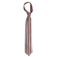ILLUSION TIE BLACK WITH WHITE HOG