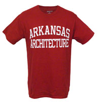 CARD SCHOOL TEE ARKANSAS ARCHITECTURE