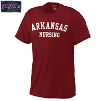 CARD SCHOOL TEE ARKANSAS ARCHED OV NURSING