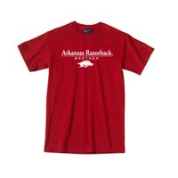 ARKANSAS RAZORBACK BROTHER CARD TEE