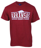 BAR DESIGN TEE ARKANSAS OVER GRANDPA
