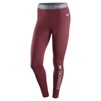 WOMENS RAZORBACKS HYPERWARM CARD TIGHT LEGGING