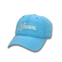 WOMENS CURSIVE ARKANSAS BLUE TAFFY CAP