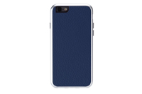 Just Mobile Aluframe Leather Blue iPhone 6