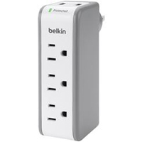 Belkin 5 Outlet Mini Surge Protector with USB Ports