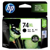 HP 74XL Black Ink Cartridge