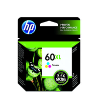 HP 60XL TriColor Ink Cartridge