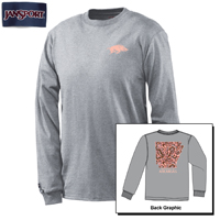 PAISLEY ARKANSAS PINK AND MOCHA SS T-SHIRT
