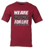 WE ARW RAZORBACKS FOR LIFE CARD SS T-SHIRT