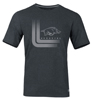 HOG ARKANSAS BLACK HEATHER SS T-SHIRT