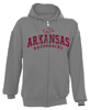 HOG ARCHED ARKANSAS RAZORBACKS OXFORD HOOD