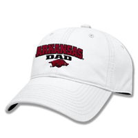 ARKANSAS DAD WHITE CAP