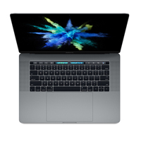 MacBook Pro 15 Inch with TouchBar - Space Gray 2.8Ghz i7 and 256Gb Flash Storage