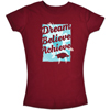 YOUTH GIRL DREAM BELIEVE ACHIEVE CARD SS T-SHIRT