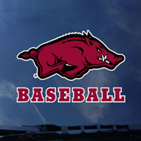 HOG BASEBALL DECAL