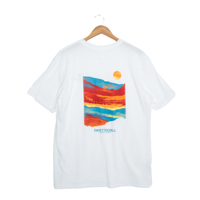 OZARK VISION SUNSET WHITE SS T-SHIRT