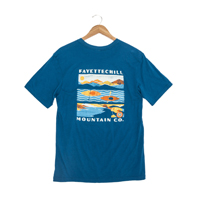 MOUNTAIN VIEW GLASS BLUE SS T-SHIRT