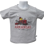 SNOOPY TRACTOR ARKANSAS STEEL SS T-SHIRT